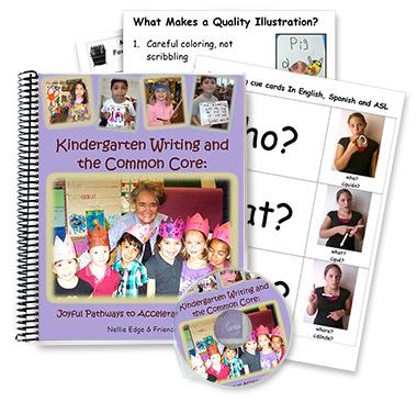kindergarten writing program