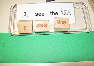 word stamp - animals
