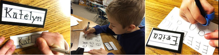 kindergarten handwriting resources