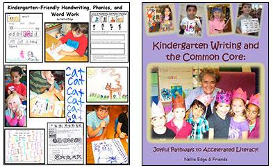 Kindergarten Writing manual by Nellie Edge