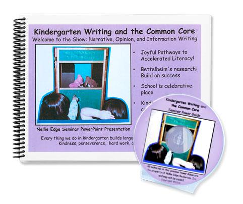 kindergarten writing program nellie edge