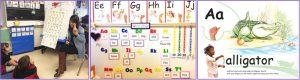 kindergarten handwriting lesson