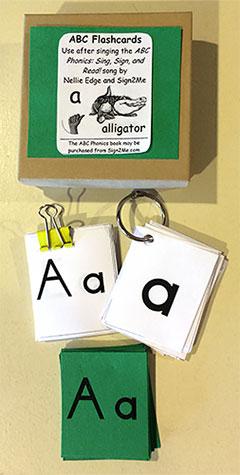 abc phonics flash cards
