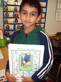 kindergarten student researcher