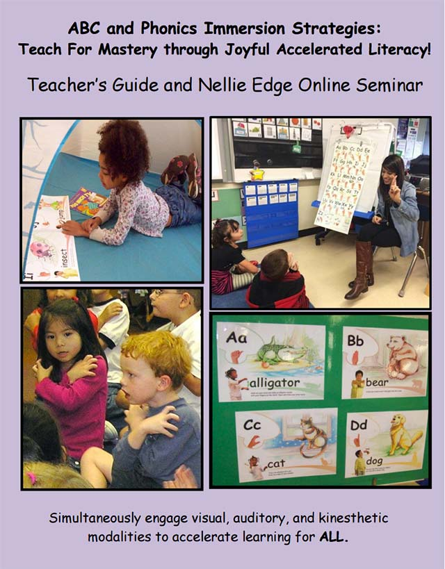 Nellie Edger Kindergarten Teacher Resource Manual for ABC Phonics