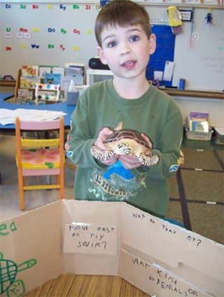 kindergarten lesson research project