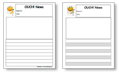 kindergarten resources - templates by nellie edge