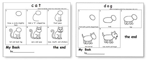 Kindergarten Writing and the Common Core Templates includes 8 draw-an-animal models.