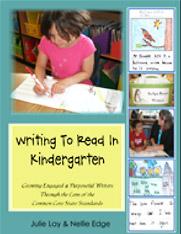 Writing to Read in Kindergarten