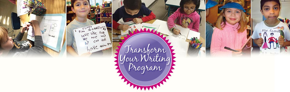 Kindergarten Writing Seminar workshop for Professional Development