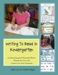 Writing to Read in Kindergarten Literacy Manual