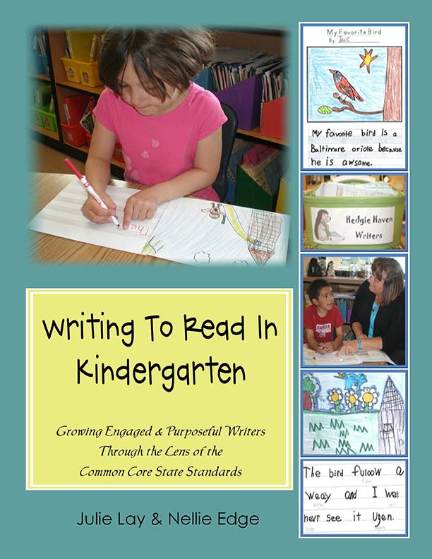Writing to Read in Kindergarten Literacy Manual
