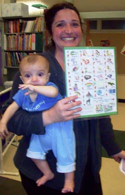ABC Phonics: Sing, Sign, and Read! Family Reference Chart