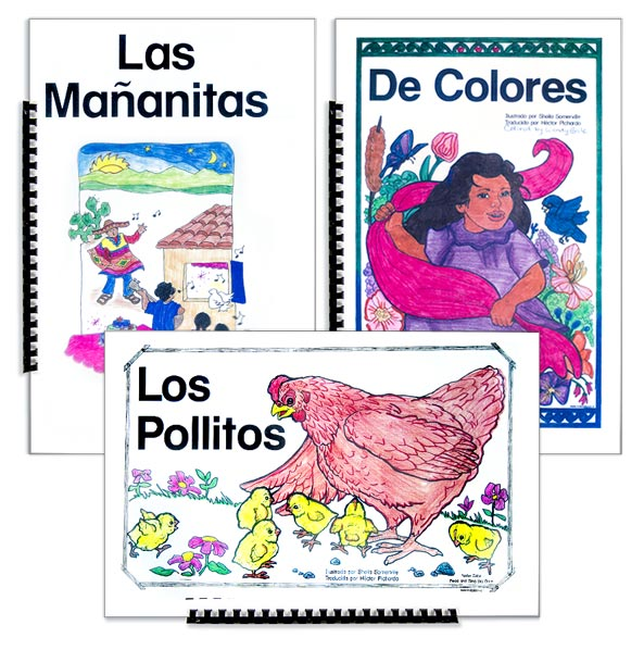 Nellie Edge Read and Sing Spanish Big Books™