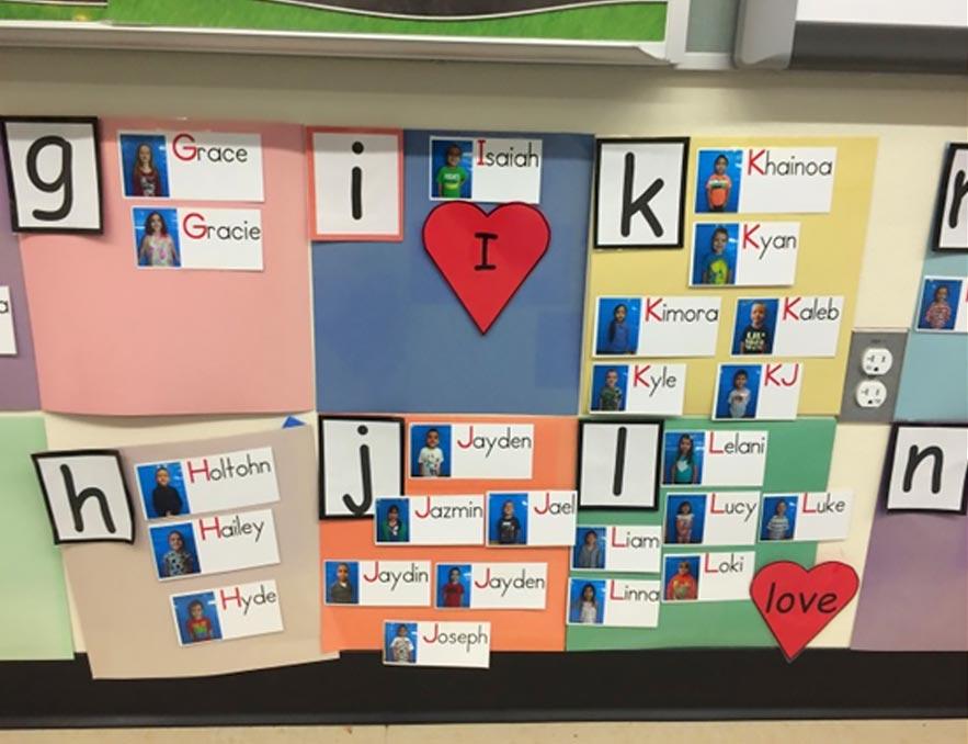 kindergarten classsroom