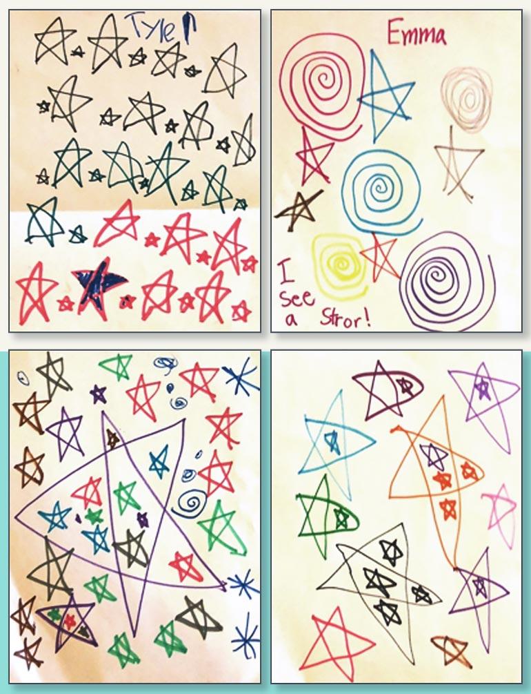 learn to draw in kindergarten