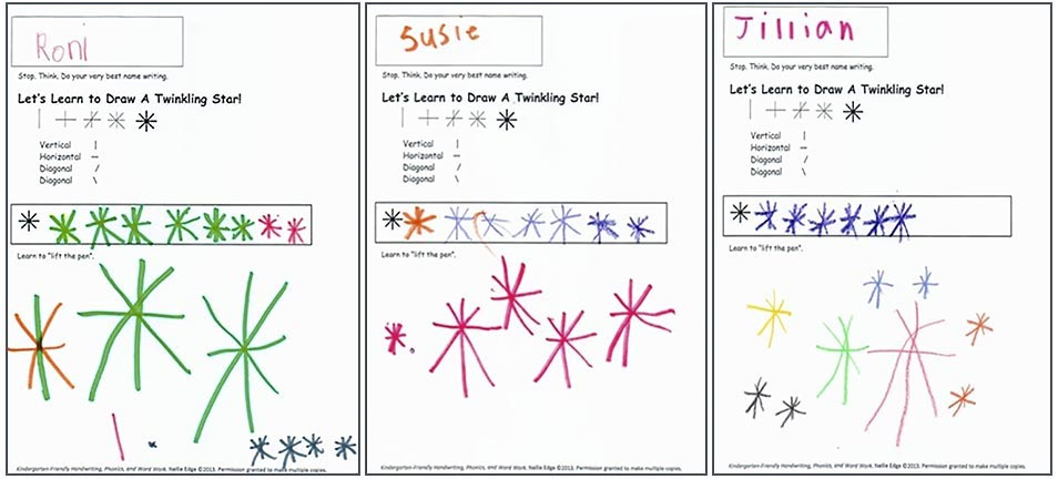 Art to Teach Handwriting