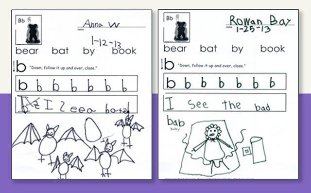 Kindergarten Friendly Handwriting By Nellie Edge