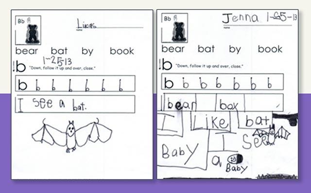 handwriting practice lessons