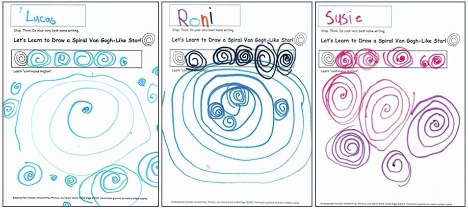 Art to Teach Handwriting