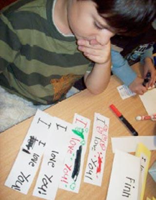 heart words teach kindergarten writing