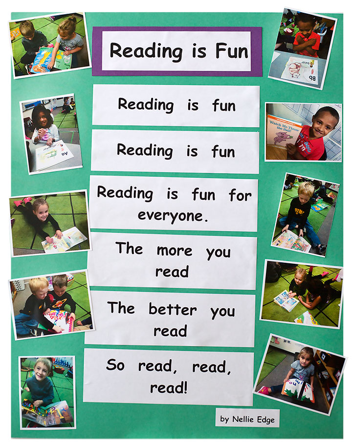 reading is fun program