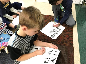 sight words - nellie edge hear word lesson