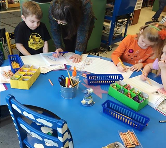 kindergarten children learn two types of words
