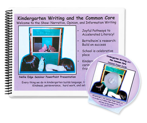 Nellie Edge Kindergarten Writing and the Common Core Program