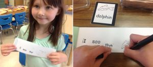 Weekly Focus: Kindergartners Love to Make Stamp and Read Books