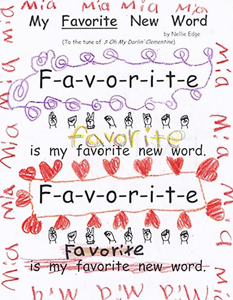 kindergarteners illustrate