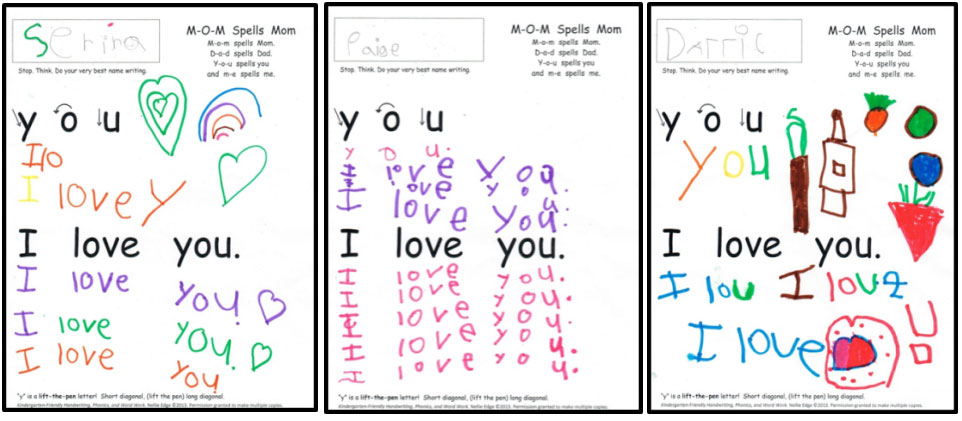 Continuous Motion Handwriting Lesson