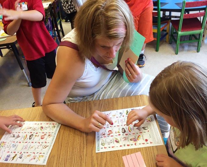 kindergarten classroom parent involvment
