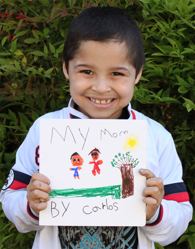 kindergarteners illustrate books