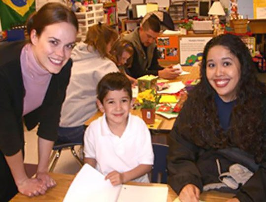 parents as partners in kindergarten classroom