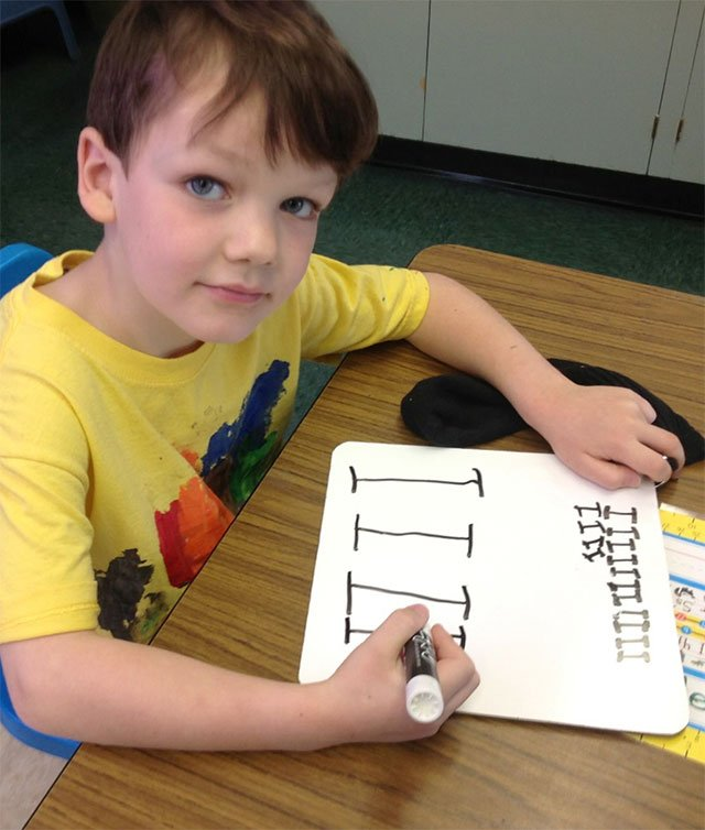 nellie edge kindergarten writing program