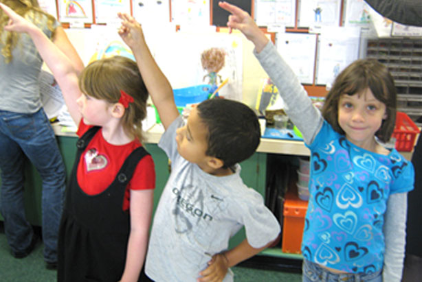 "The ""O"" Dance by Nellie Edge. Saying and doing increases handwriting proficiency."