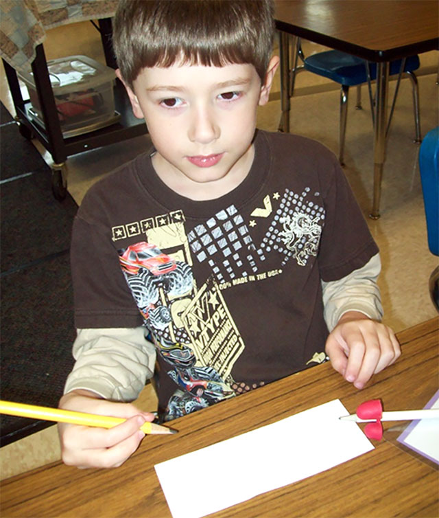 pencil grip lesson