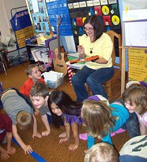 kindergaren classroom