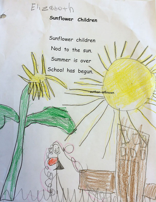 kindergarten classroom lesson