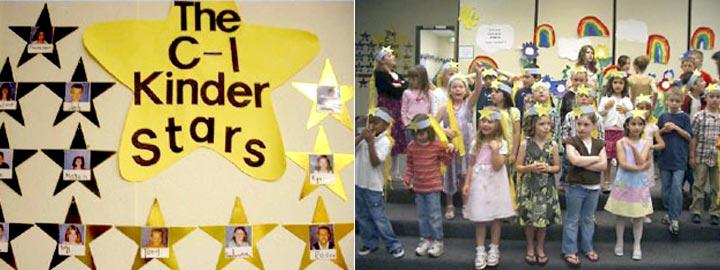 kinder stars Year-End Celebration
