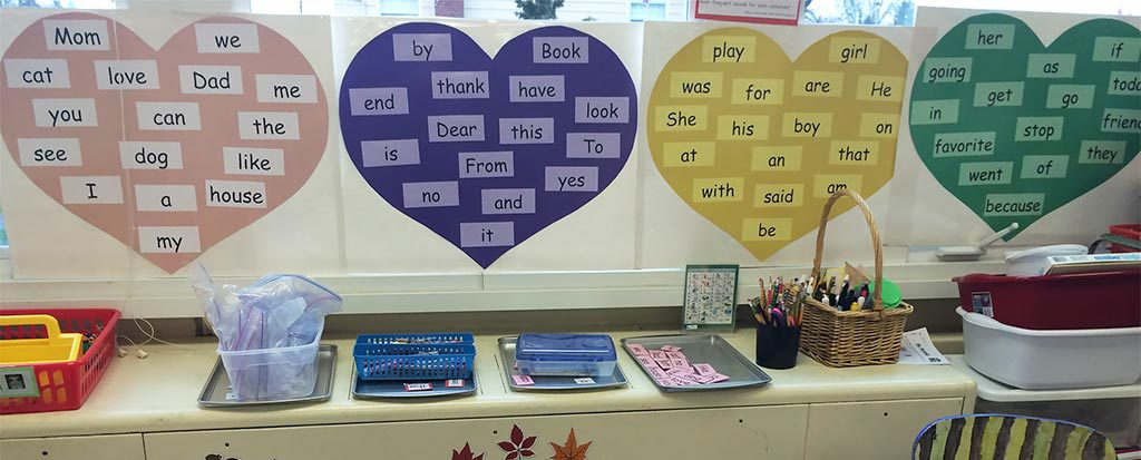 """Boost Kindergarten Writing Skills with These 15 Best Practices Fluency with high-frequency """"heart word"""" sentences is your key to success!"""