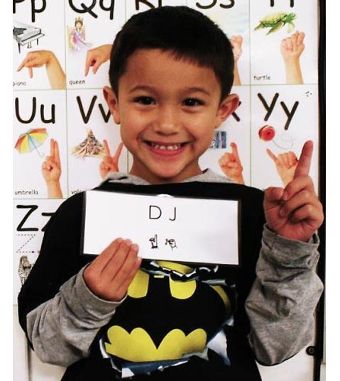0 Reasons to Teach Fingerspelling in Kindergarten