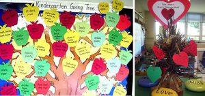 Weekly Focus: The Kindergarten Giving Tree –