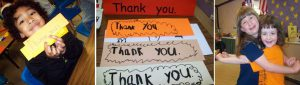 "Kindergarten lessons: Teaching ""Thank You"" and Developing an Attitude of Gratitude"