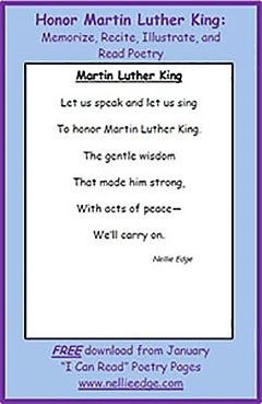Kindergarten Lessons Honoring The Life Of Martin Luther King Jr