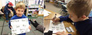 kindergarten handwriting name ticket practice lessons
