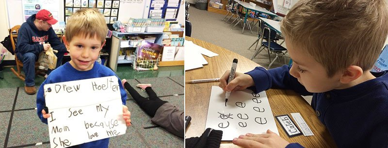 kindergarten handwriting name ticket practice lessons
