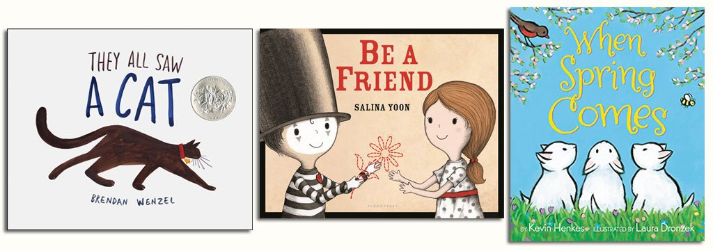 Favorite New Children's Books of 2016 Selected by Kindergarten Teacher and Book Lover Nellie Edge