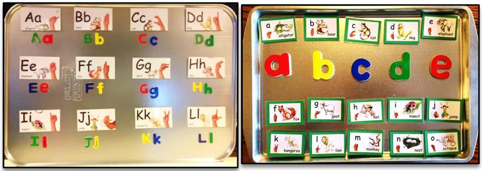ABC goal for ALL children is to write and recognize the letters